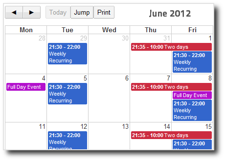 joompaid calendars events